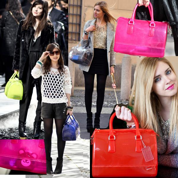 Furla Candy Bags.